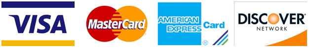 CALTEC accepts major credit cards including: Mastercard, VISA, Discover, American Express.